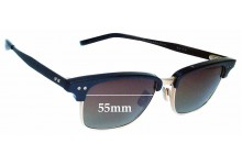 Dita Statesman Three Replacement Sunglass Lenses - 55mm wide