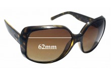 DKNY 4101 Replacement Sunglass Lenses - 62mm Wide