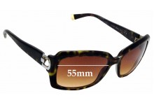 Sunglass Fix Replacement Lenses for DKNY DY4073 - 55mm Wide