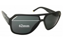 Sunglass Fix New Replacement Lenses for Dolce & Gabbana DG4138 - 62mm Wide