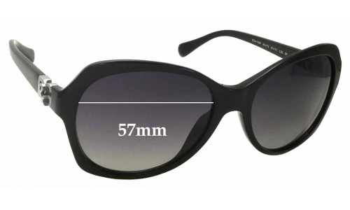 Dolce & Gabbana DG4163P Replacement Sunglass Lenses - 57mm wide