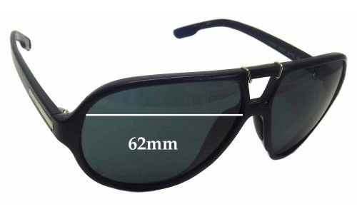 Dolce & Gabbana DG6062 Replacement Sunglass Lenses - 62mm wide