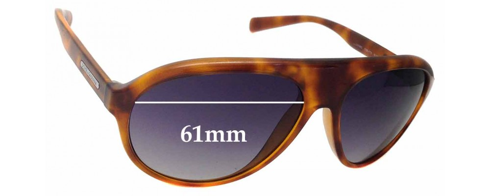 Dolce & Gabbana DG6080 Replacement Sunglass Lenses - 61mm Wide