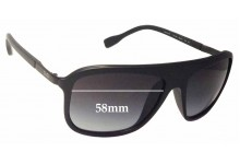 Dolce & Gabbana D&G8088 Replacement Sunglass Lenses - 58mm wide
