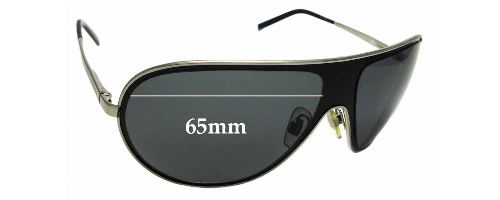 Sunglass Fix Replacement Lenses for Dolce & Gabbana DG2024 - 65mm wide