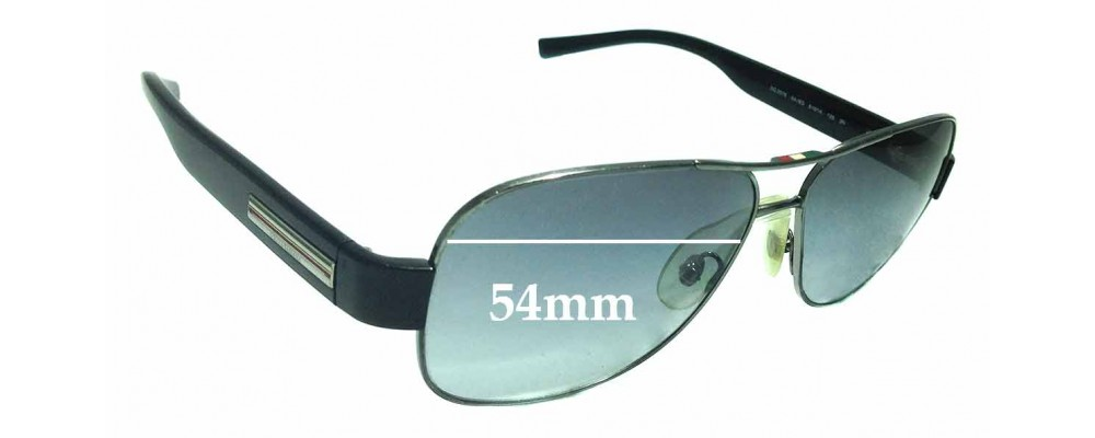 Sunglass Fix Replacement Lenses for Dolce & Gabbana DG 2076 - 54mm wide