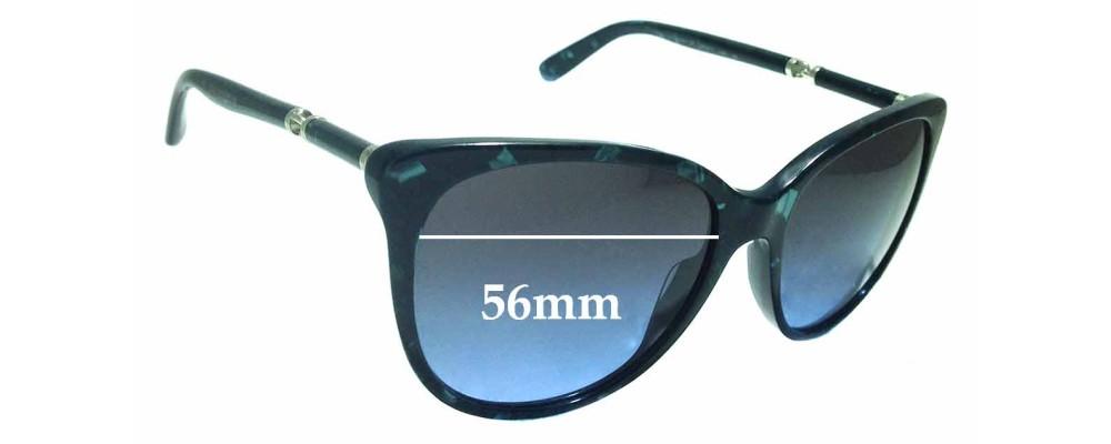Sunglass Fix Replacement Lenses for Dolce & Gabbana DG4156-A - 56mm wide