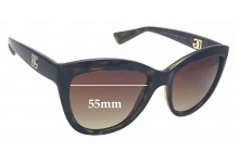 Sunglass Fix New Replacement Lenses for Dolce & Gabbana DG6087 - 55mm Wide