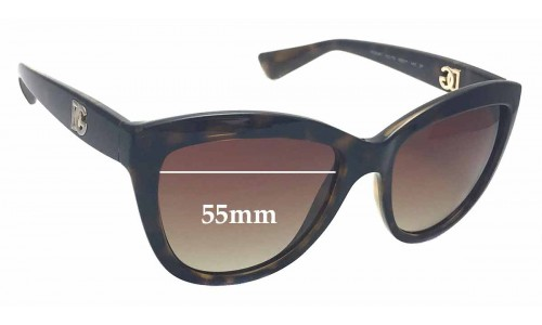 Dolce & Gabbana DG6087 Replacement Sunglass Lenses - 55mm wide