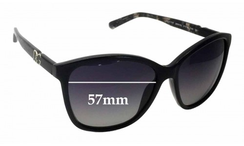 Sunglass Fix Replacement Lenses for Dolce & Gabbana DG4170P - 57mm wide