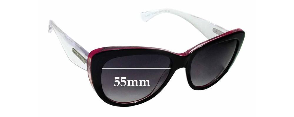 Sunglass Fix Replacement Lenses for Dolce & Gabbana DG4221- 55mm wide