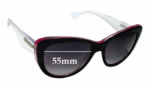 Sunglass Fix Replacement Lenses for Dolce & Gabbana DG4221- 55mm wide