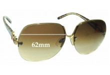 Sunglass Fix Replacement Lenses for Dolce & Gabbana DG2050-B - 62mm wide