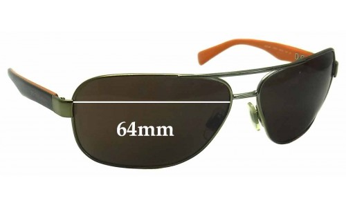 Dolce & Gabbana DG2120P Replacement Sunglass Lenses- 64mm Wide