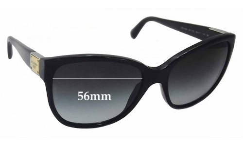 Dolce & Gabbana DG4195 Replacement Sunglass Lenses - 56mm wide