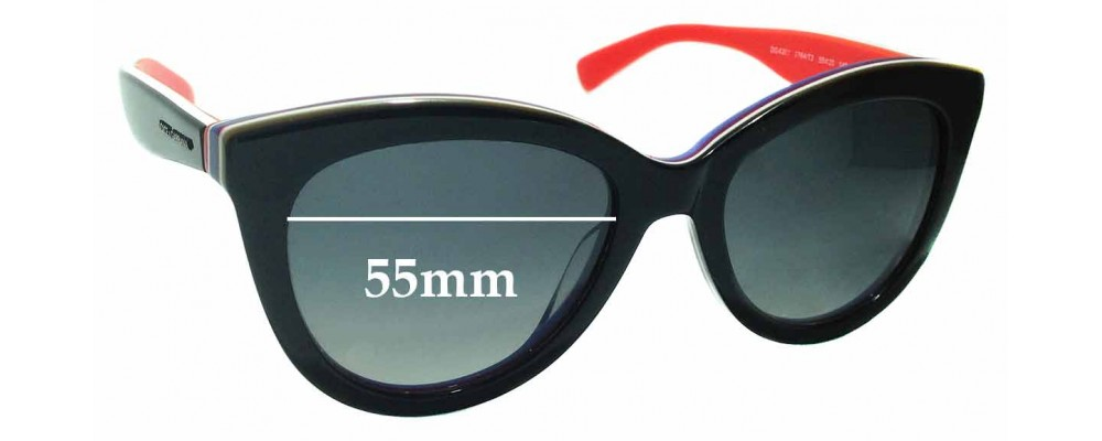 00b545908dd4b Sunglass Fix Replacement Lenses for Dolce   Gabbana DG4207 - 55mm wide