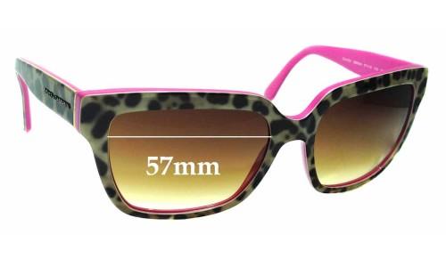 Sunglass Fix Replacement Lenses for Dolce & Gabbana DG4234 - 57mm wide