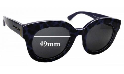 Sunglass Fix Replacement Lenses for Dolce & Gabbana DG4235 - 49mm wide
