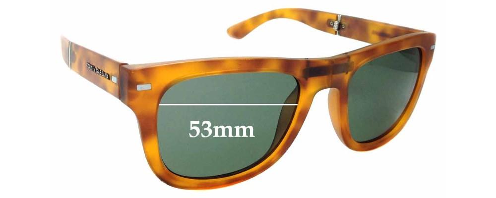 Sunglass Fix Replacement Lenses for Dolce & Gabbana DG6089 - 53mm wide