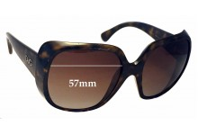 Dolce & Gabbana DG8087 Replacement Sunglass Lenses - 57mm wide