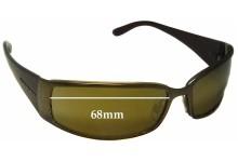 Donna Karan DK2513 Replacement Sunglass Lenses - 68mm Wide