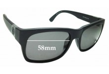 Sunglass Fix Replacement Lenses for Dragon Tailback H2O Floatable - 55mm wide