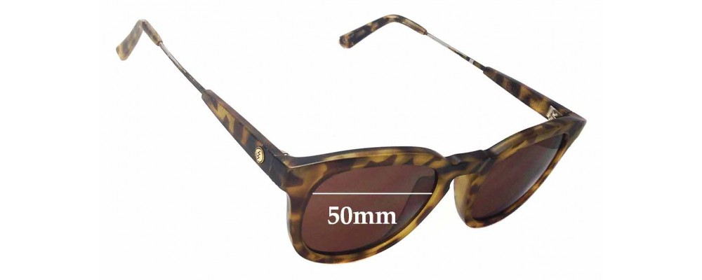 59mm wide SFx Replacement Sunglass Lenses fits Coach Peony