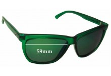 Electric Watts Replacement Sunglass Lenses - 59mm wide