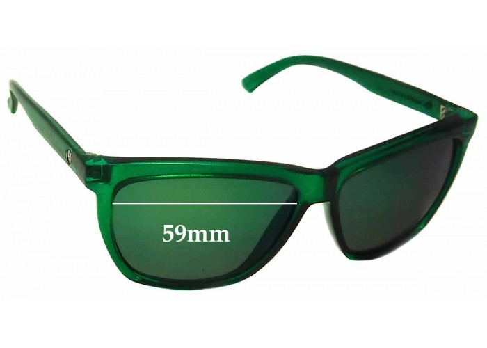 SFX Replacement Sunglass Lenses fits Electric Outline 53mm Wide