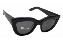 Ellery Graz Replacement Sunglass Lenses - 50mm Wide