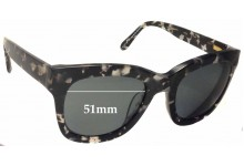 Ellery Sun Rx 03 Replacement Sunglass Lenses - 51mm Wide