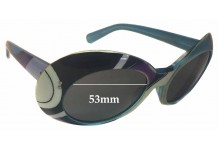 Emilio Pucci Polyvore Replacement Sunglass Lenses- 53mm wide