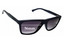 Sunglass Fix Replacement Lenses for Emporio Armani EA4001 - 56mm Wide