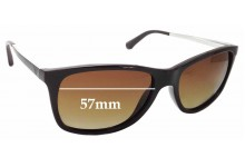 Sunglass Fix Replacement Lenses for Emporio Armani EA 4023 - 57mm wide