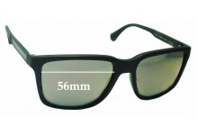 Emporio Armani EA4047 Replacement Sunglass Lenses - 56mm Wide