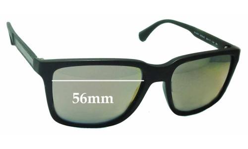 2730f45afba9 Emporio Armani EA4047 Replacement Sunglass Lenses - 56mm Wide
