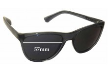Emporio Armani EA4053 Replacement Sunglass Lenses - 57mm wide