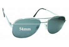 Sunglass Fix Replacement Lenses for Engelhardt Pro-Safe - 54mm Wide