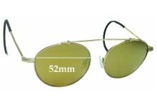 Epokhe XOA Replacement Sunglass Lenses - 52mm Wide