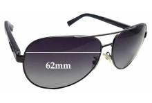 Sunglass Fix Replacement Lenses for Ermenegildo Zegna EZ 0010 - 62mm wide