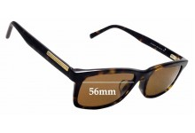 Sunglass Fix Replacement Lenses for Ermenegildo Zegna EZ 5030-F - 56mm wide