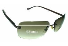 Ermenegildo Zegna SZ 3244 Replacement Sunglass Lenses - 63mm wide