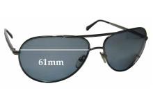 Ermenegildo Zegna SZ 3175 Replacement Sunglass Lenses - 61mm wide
