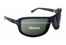 Ermenegildo Zegna SZ3510 Replacement Sunglass Lenses - 66mm Wide
