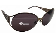 Sunglass Fix Replacement Lenses for Escada SES 681/S - 60mm Wide