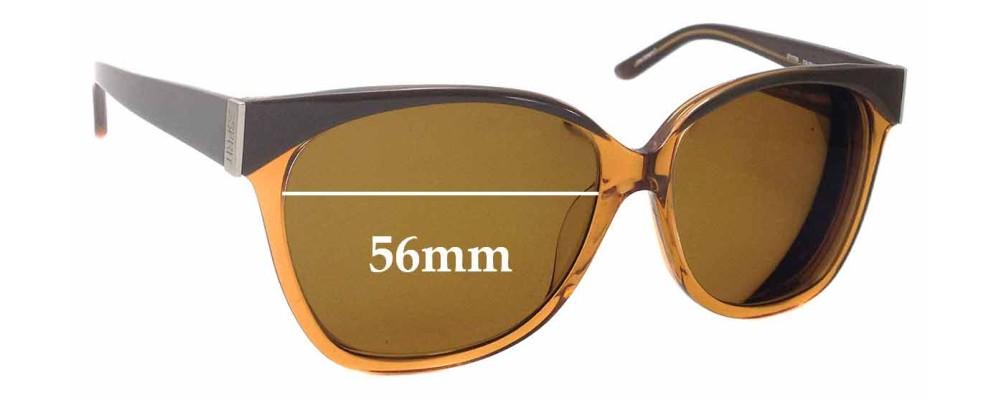 Esprit ET17755 Replacement Sunglass Lenses - 56mm Wide