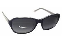 Esprit ET17885 Replacement Sunglass Lenses - 56mm Wide