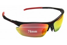 Euro Arrow Replacement Sunglass Lenses - 74mm wide
