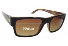 Sunglass Fix Replacement Lenses for Evoke Famiglia Capo I - 55mm Wide