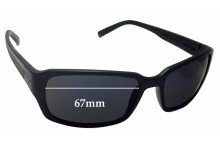 Fat Head Jaxon FH-V124 Replacement Sunglass Lenses - 67mm wide
